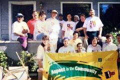 Volunteering on housing for the community