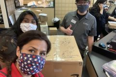 Sending handmade masks across the country  for COVID relief